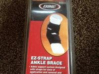 -BIKE -ONE SIZE FITS ALL -ANKLE SUPPORT SYSTEM DESIGNED