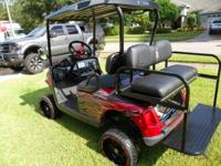 Overall customized 2008 EZGO RXV functions:. A-arm