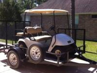We have a Very Nice 2001 EZGO 36V Golf Cart and a 2007