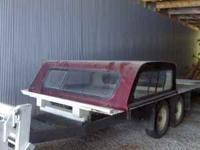 1997-2003 Ford F-150 Fiberglass CENTURY topper painted
