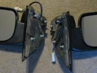 selling pair of power mirrors. Adjustment motors work,