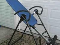 I am selling a F-8000 inversion table. The table is in