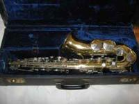 "F. A. REYNOLDS ""MEDALIST"" ALTO SAXOPHONE, WITH CASE, IN"