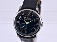 F.P Journe Chronometre Bleu, Tantalum on a Strap with a