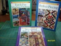 numerous hardback/softback quilting books. All books in