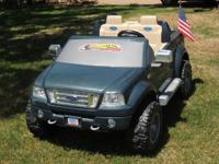 Cash money Only. Fisher-Price Power Wheels F-150