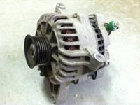 I pulled my stock 110amp alternator to install larger