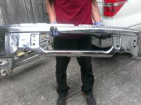 For sale is a front bumper for a 2013 F150 with the the