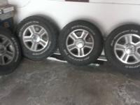 Have a set of 4 stock F150 rims from my 2005 f150, one