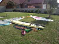 F2 Vega Epoxy Carbon Lite Windsurfer Boom Pole 2 Sails