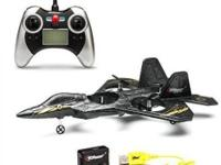 Product Description: Top Race F22 RC Fighter Jet Quad