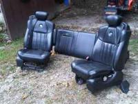 Here is a set of harleydavidson edition seats for ford