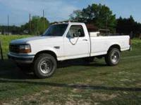 I have a 1995 F250 4 wheel drive diesel with the 7.3
