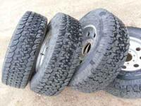 2001 8 lug stock ford excusion aluminium rims with