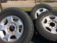 "I have a set of 18"" Ford factory wheels I removed of my"