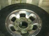I have 2 sets of rims and tires off my 99 f250 super