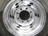 i have a set of 16x10 rims. no tires on rims 8x170 lug