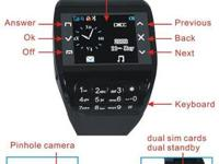Model: Watch Phone F3 Band: GSM /1900MHz Service