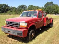 1995 ford f450 4x4 auto trans 41000 miles with two 12 k