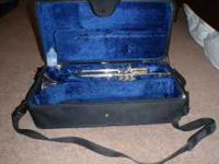 F. Besson International Series trumpet with mouthpiece