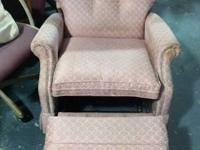 Fabric Grey Recliner $55 Chabad Thrift Store Non Profit