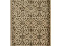Fabris Khaki 6 ft. 7 in. x 9 ft. 8 in. is a 10 mm pile