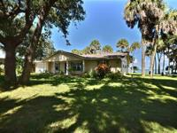 Direct riverfront on Sebastian's pristine intracoastal