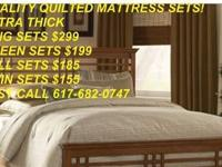 WE HAVE BRAND NEW INCREDIBLE KING MATTRESS SETS, QUEEN,