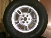 "15"" wheels with 275/60/15 tires that are about 1/2"