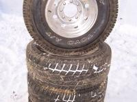 1997 & older factory ford 8 lug aluminum wheels in good