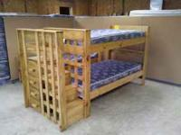 Have new step bunk beds, in store $499 selling for