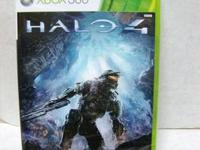 BRAND NEW & FACTORY SEALED HALO 4 XBOX 360, 2012. PRICE