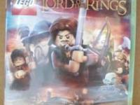FACTORY SEALED PLAYSTATION 3 PS3 LEGO LORD OF THE