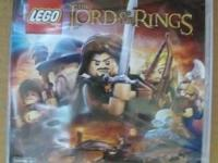 FACTORY SEALED XBOX 360 LEGO LORD OF THE RINGS. IF YOU