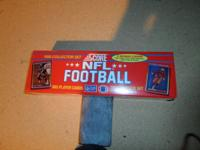 For Sale is a complete Factory set of 1990 Score