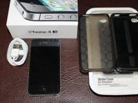 iPhone 4S Black 64GB A1387 iOS 6.1.3 (Not updated to