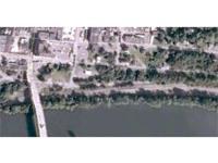 Riverfront lot on the Monongahela River in historic