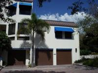 Longboat Key Gated with Deeded Beach access to the Bay