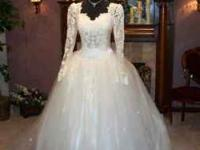 Fairy tale wedding gown. Guaranteed to make you feel