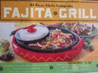 Perfect for cooking anything from fajitas, burgers to