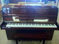Very pretty Falcone Console Piano. $2495.00 - Warranty