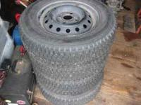 I am selling 4 Falken Eurowinter Studded snow tires and