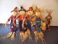 FALL DECORATIONS, EXCELLENT CONDITION, NEVER BEEN