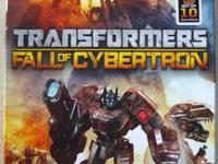 Like New Condition Transformers: Fall of Cybertron game