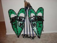 -- 2 pair Northern Lite Backcountry Snowshoes for