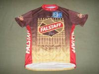 Falstaff Bike Jersey XL Never worn New with Tags