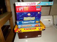 VARIETY OF FAMILY BOARD GAMES. PLEASE CONTACT JOHN AT