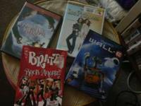 Four DVD's, Disney's WALL-E, Disney Ice Princess, Jim