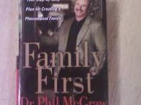 I am selling a new copy of Dr. Phils Family First. This