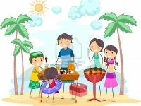 FAMILY & FRIENDS BBQ TIME..... Split and Seasoned OAK